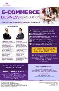 Peluang Bisnis eCommerce 2016: Seminar E-commerce Business Solution