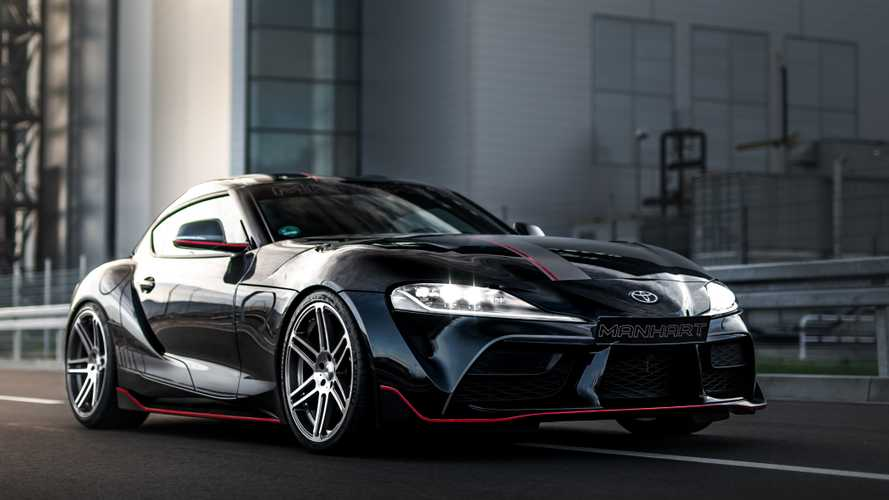 2020 Toyota Supra Gets Massive Power Bump From Manhart In 2020 New Toyota Supra Toyota Supra Toyota