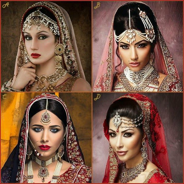 A Matha Patti It Cover Entire Head Up Many South Asian Brides Wear