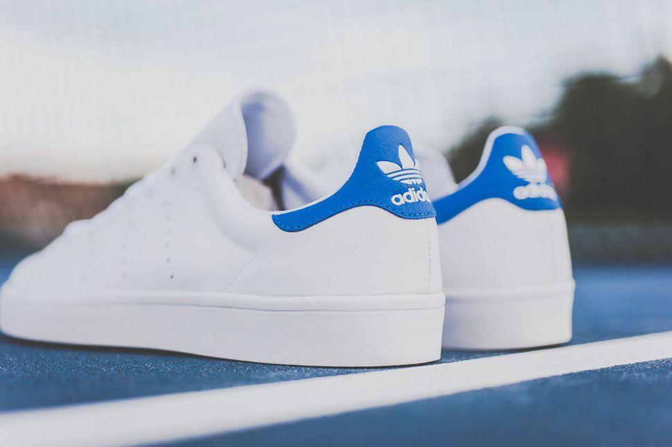adidas stan smith blu vintage