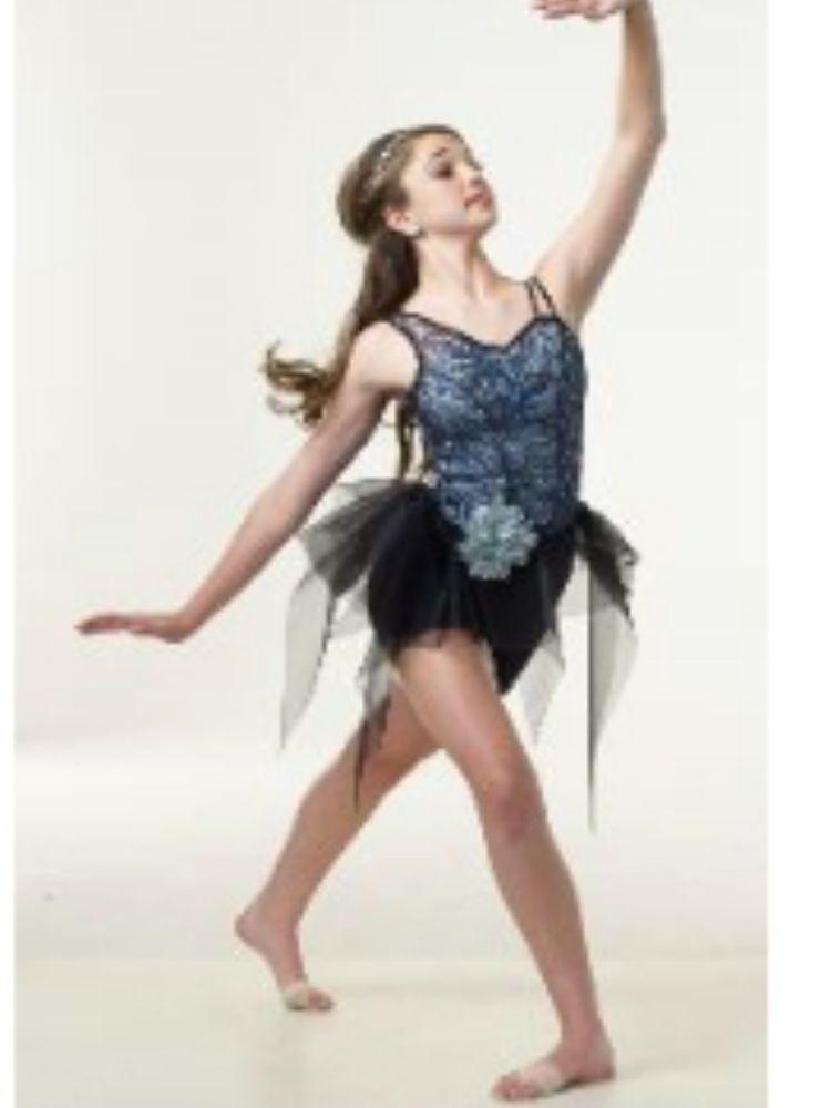 Details About Girl Curtain Call R306 Ocean Breeze Black Blue