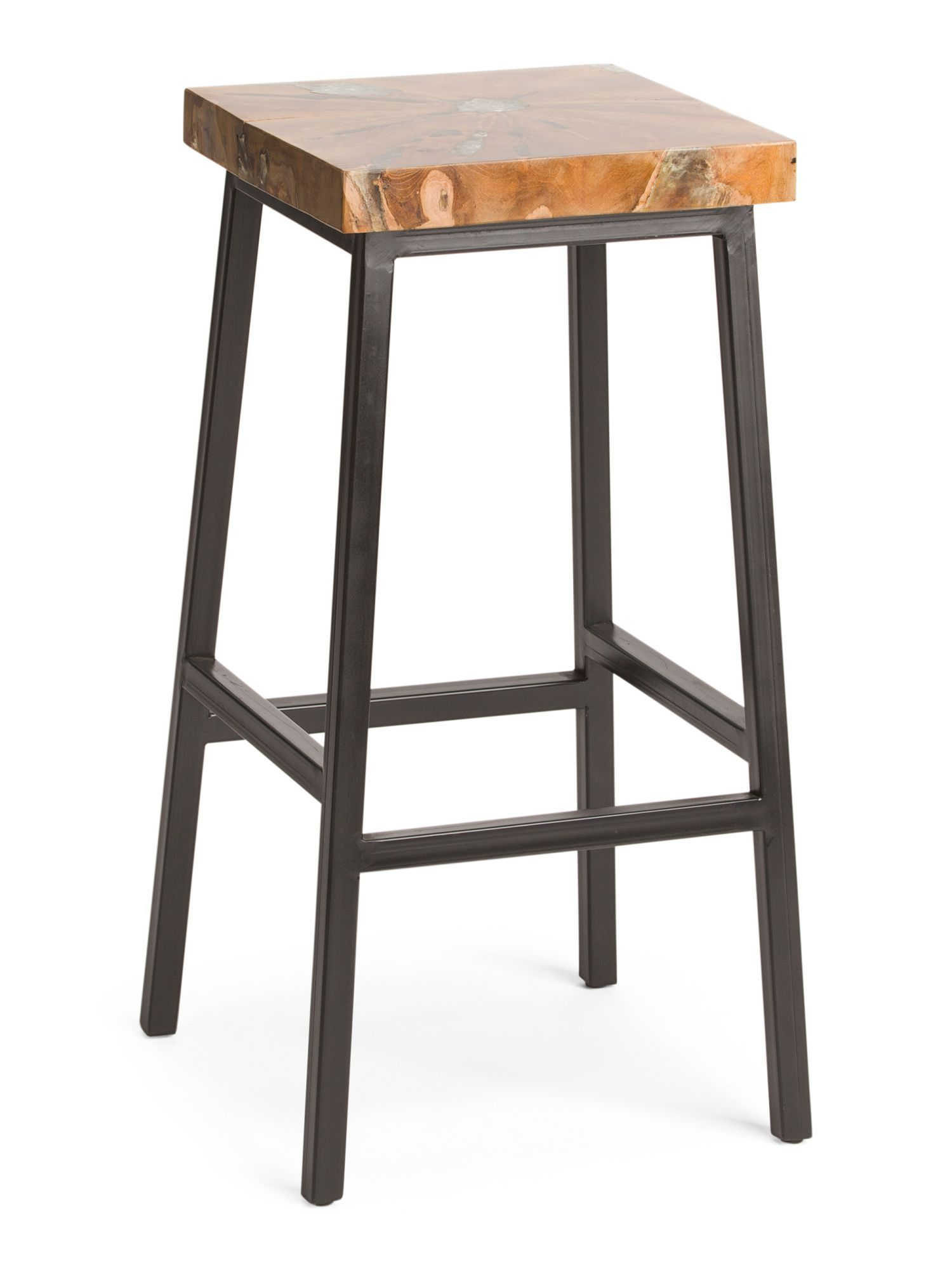 Awe Inspiring Teak Resin Barstool Products Bar Stools Accent Bralicious Painted Fabric Chair Ideas Braliciousco