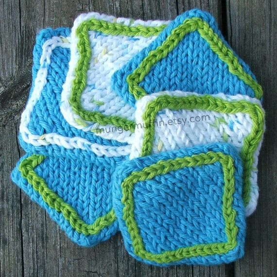 Cotton face scrubbies by mungermuffin on Etsy