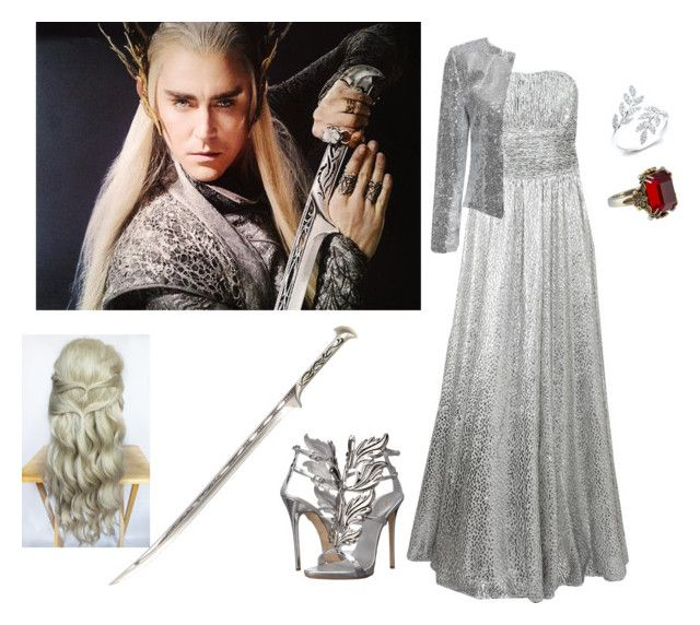 """Thranduil."" by yoli-potterhead ❤ liked on Polyvore featuring Michael Kors, Alexander McQueen, Giuseppe Zanotti, women's clothing, women, female, woman, misses and juniors"