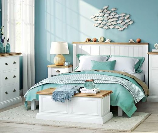 School of fish art ideas for the bedroom featured on