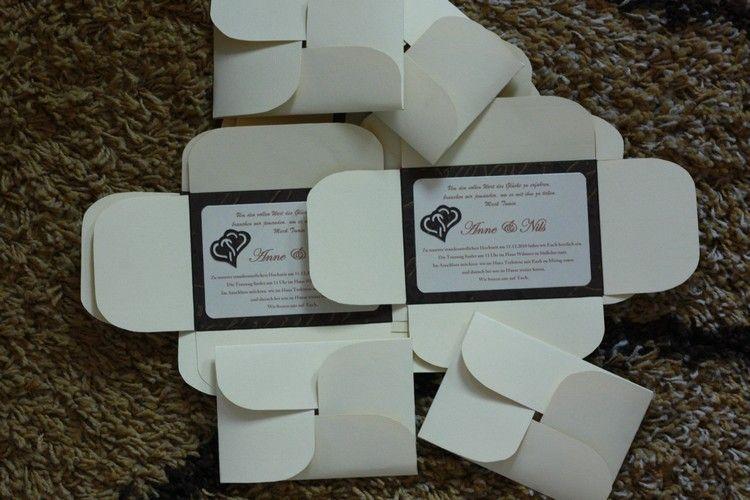 anne im scrapfieber einladungskarten hochzeit paper folding invitation pinterest. Black Bedroom Furniture Sets. Home Design Ideas