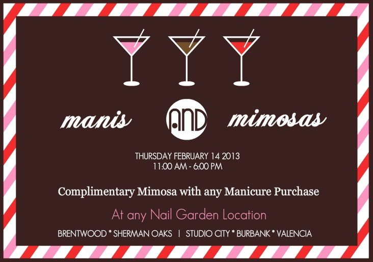 Join us on Valentine\'s Day! Come and enjoy a refreshing Mimosa while ...