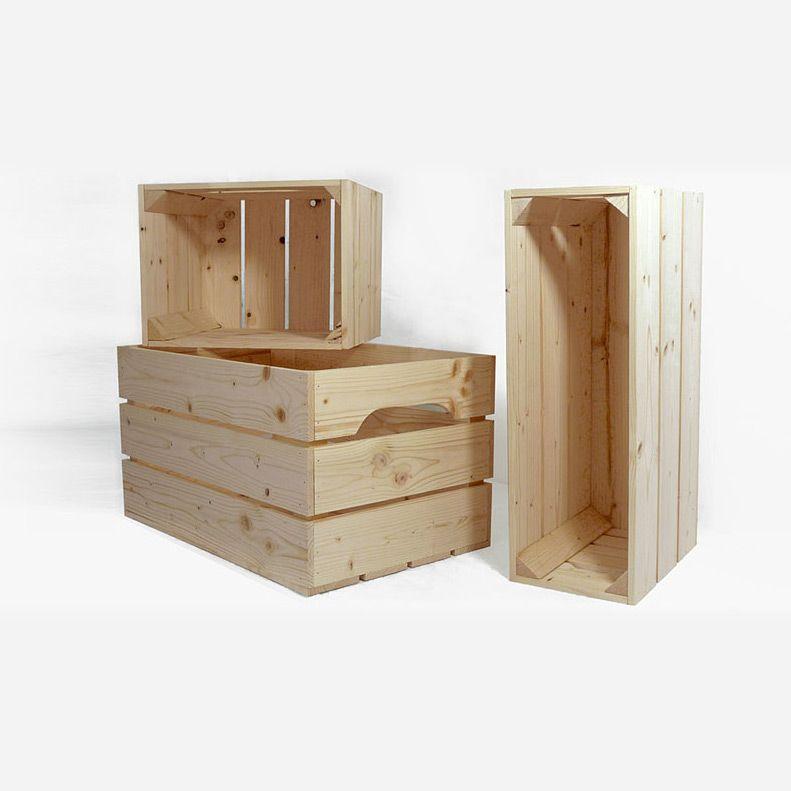 Où trouver des caisses de bois pour sa déco Organizing