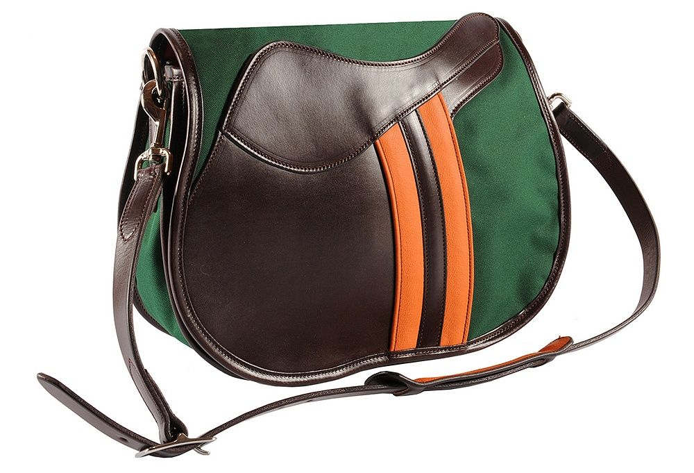 Saddle Messenger, Green | American Ingenuity | One Kings Lane