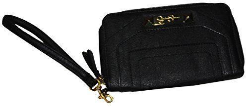 Jessica Simpson Wristlet Wallet Gracie Black - http://bags.bloggor.org/jessica-simpson-wristlet-wallet-gracie-black/