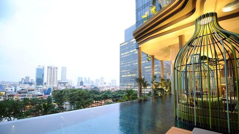 Immeuble vegetal en plein coeur de singapour inspiration de mes voyages singapour jardins - Immeuble vegetal ...