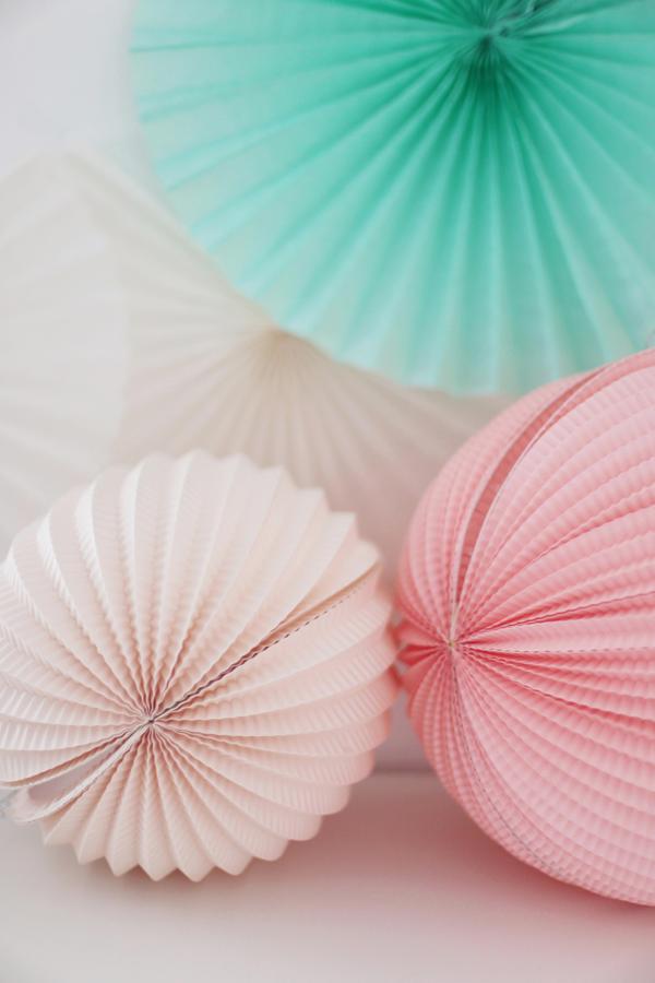Fräulein Klein : eine Palmen-Flamingo-Party in Pastell