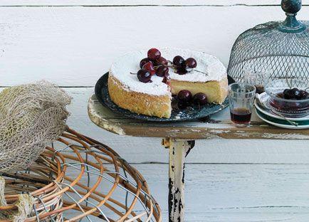 Australian Gourmet Traveller Spanish cake recipe for gâteau Basque (Pastel Vasco).