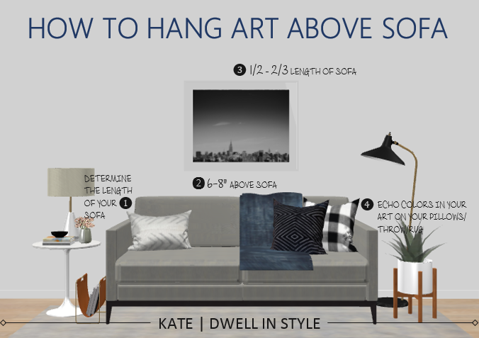 Image Result For Hanging Art Above Couch Wall Behind Sofa Room Layout Home Decor