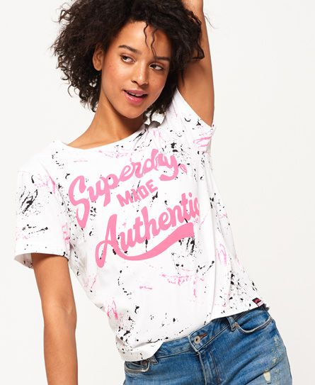 Made Authentic Boxy T-Shirt Superdry Classic Best Seller Sale Online 2018 Discount YZSDm