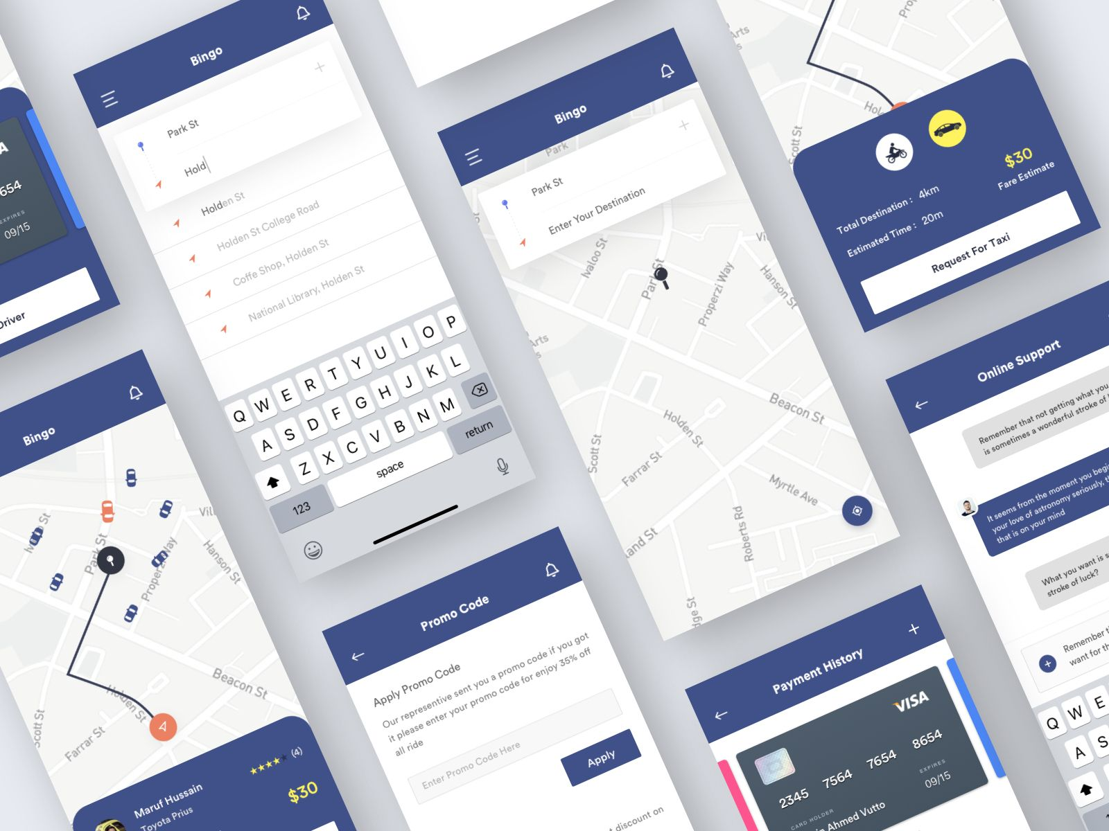 Bingo App UI Kit | Mobile UI Inspiration | App ui, Ui kit