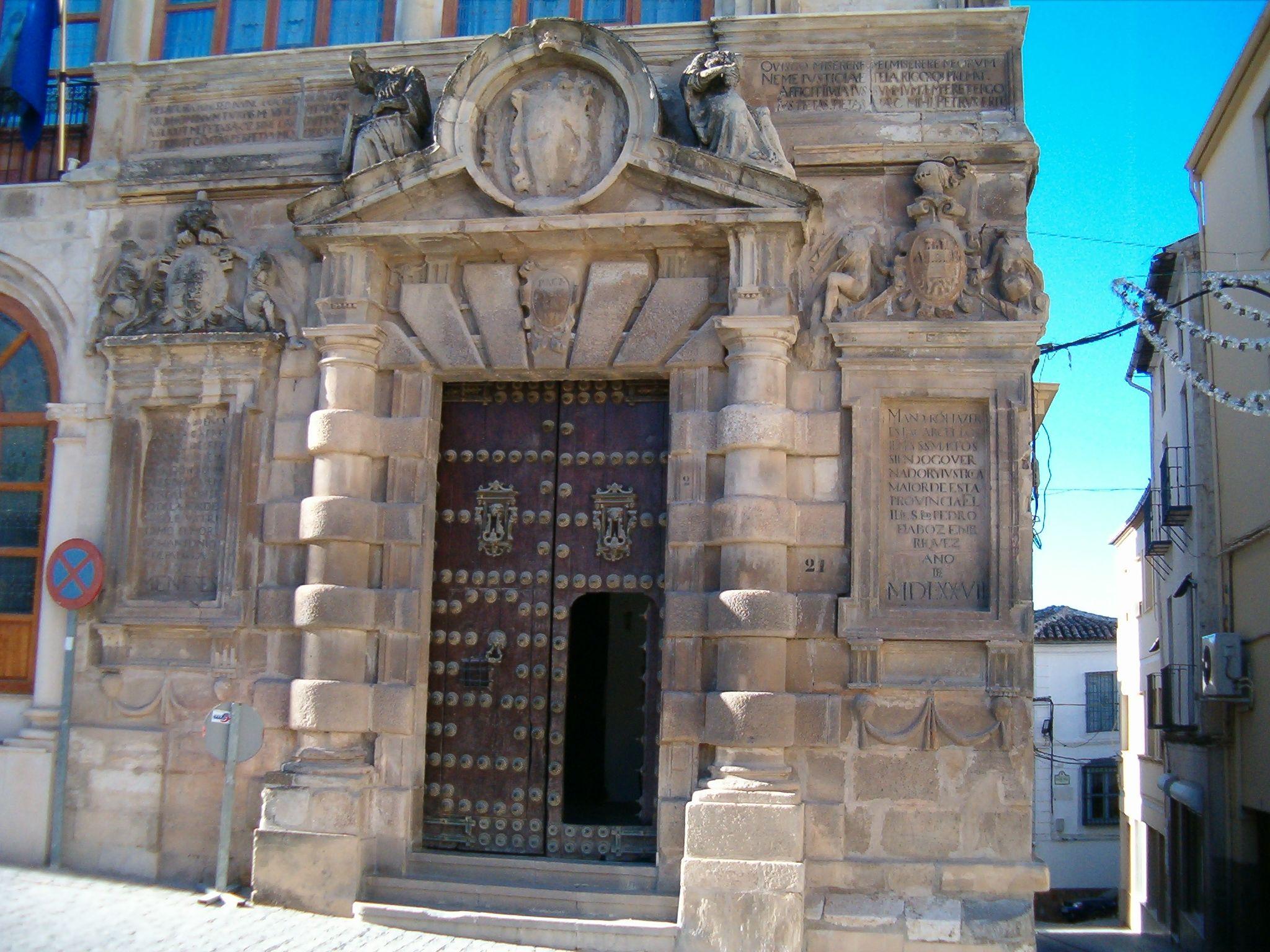actual sede del Excmo Ayuntamiento de Martos
