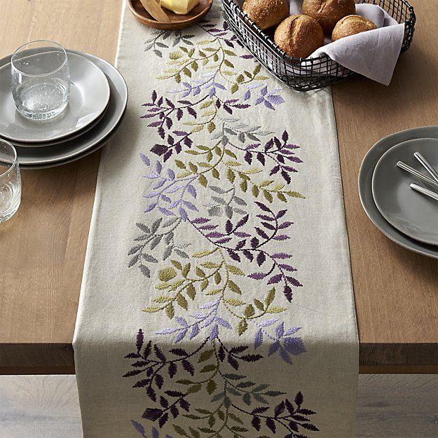 Wedding Table Runner,Easter table runner,Floral tea towel,Boho table runner,embroidered linen tea towel,hand embroidery,spring table runner