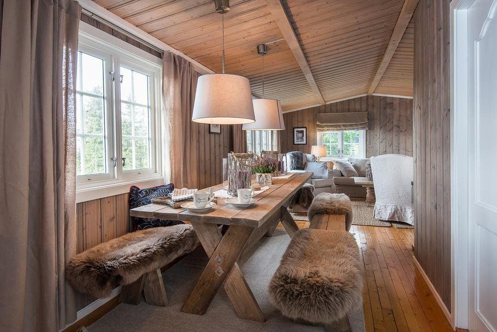 Norwegian cabin i will live here at some point for Bauernstube modern einrichten