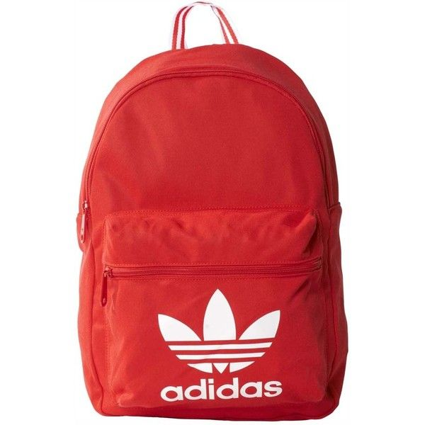 f8b97b1ede10 adidas originals Backpack Classic Tricot (€29) ❤ liked on Polyvore  featuring bags
