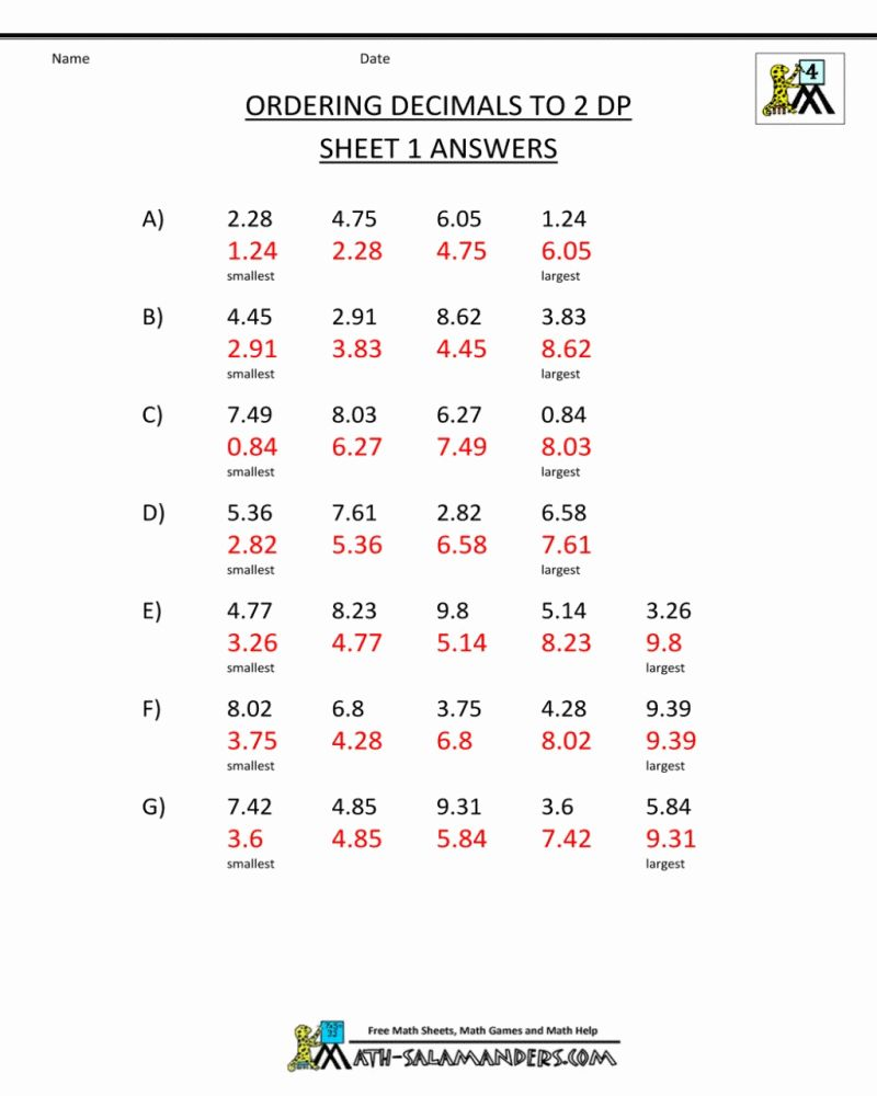 medium resolution of 6th Grade Math Worksheets To Do Online