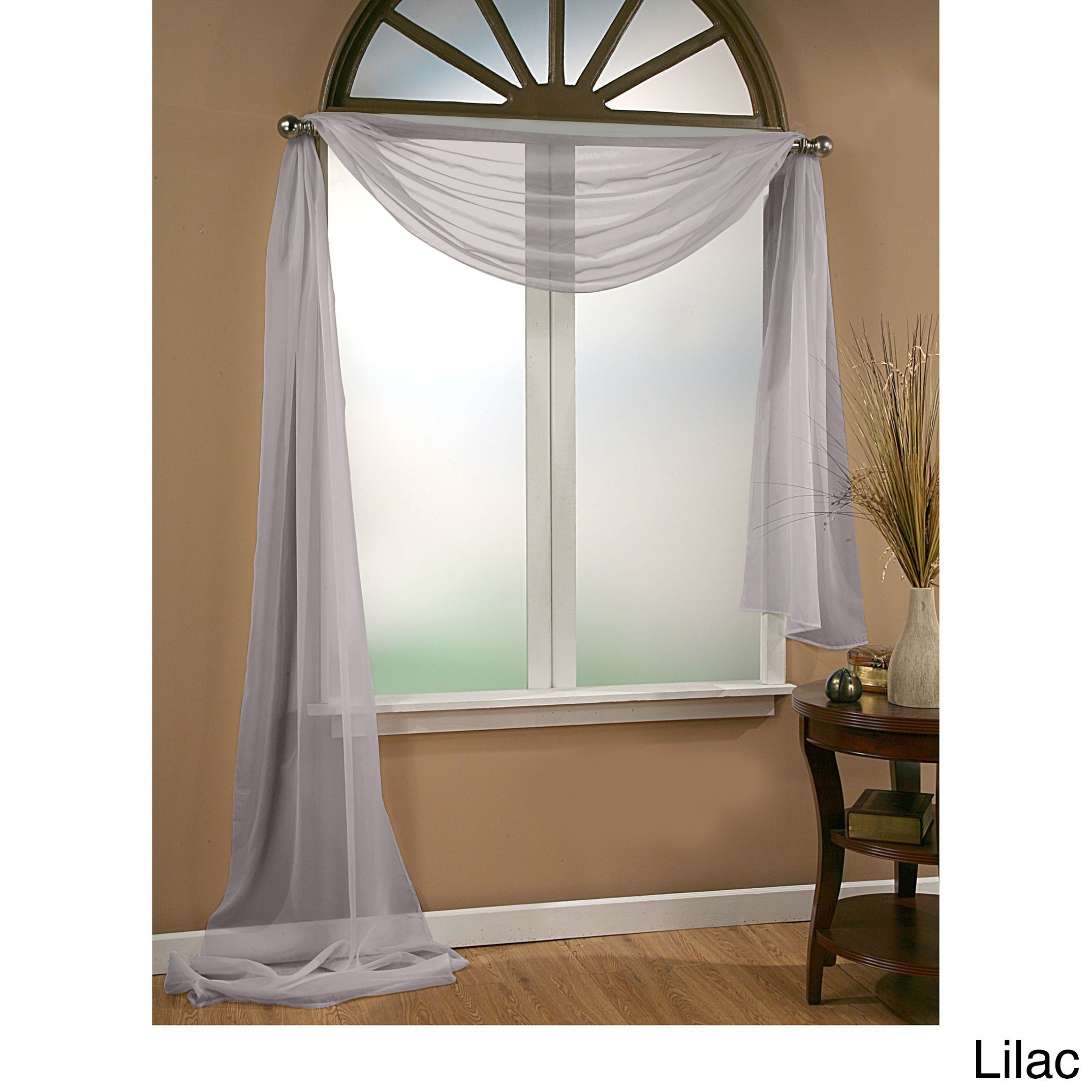 Overstock Com Online Shopping Bedding Furniture Electronics Jewelry Clothing More Window Treatments Sheer Window Scarf Traditional Window Treatments #scarf #curtains #for #living #room