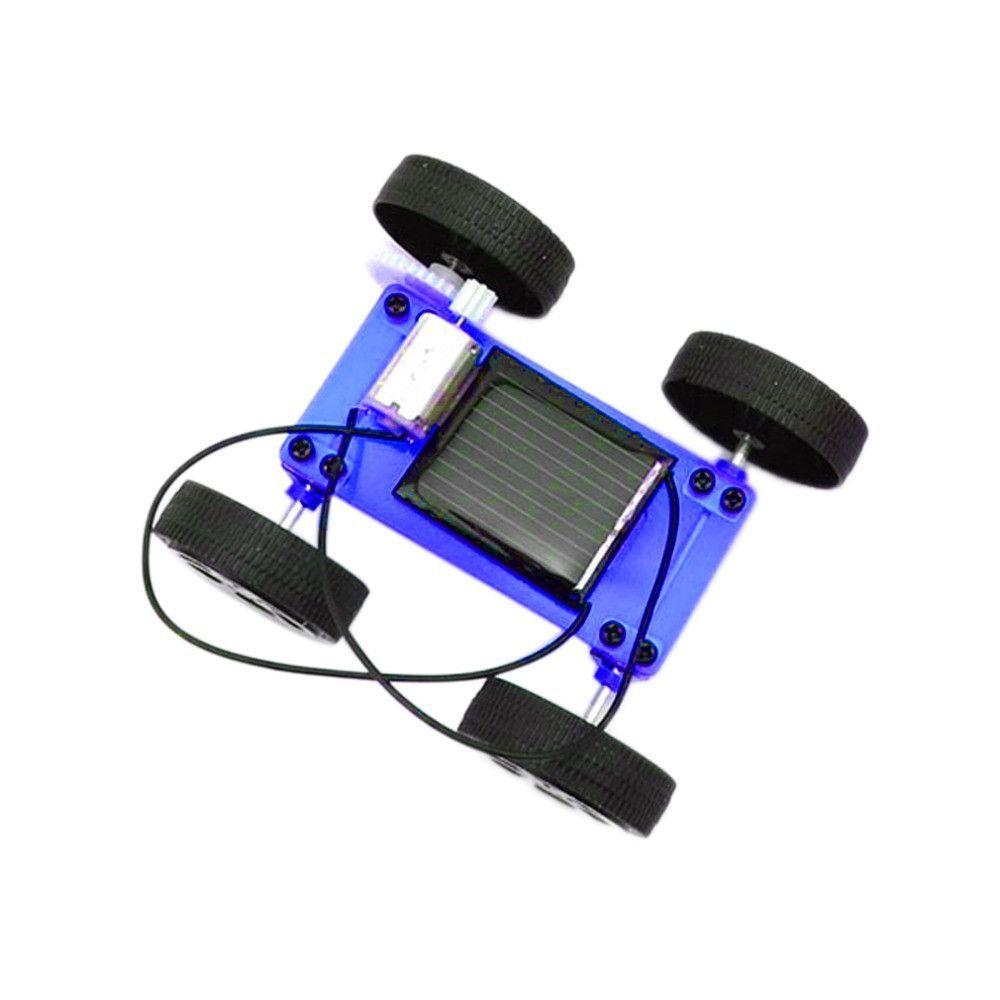 Mini Solar Powered DIY Car Kit Solar powered toys, Diy