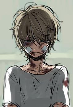 Manga Dessin Garcon Blesse Bandage Triste Cry