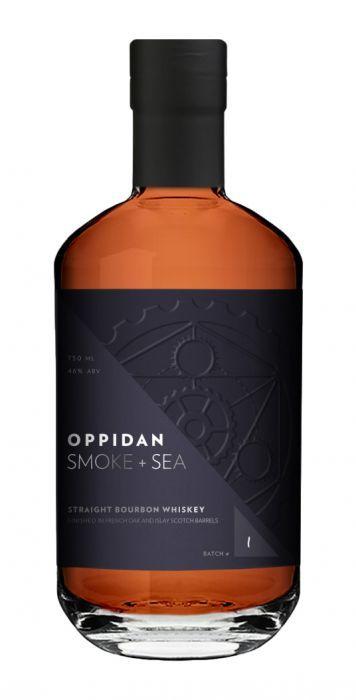 Photo of Oppidan Bourbon Smoke + Sea Straight Bourbon Whiskey