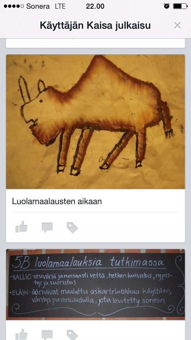 Luolamaalauksia