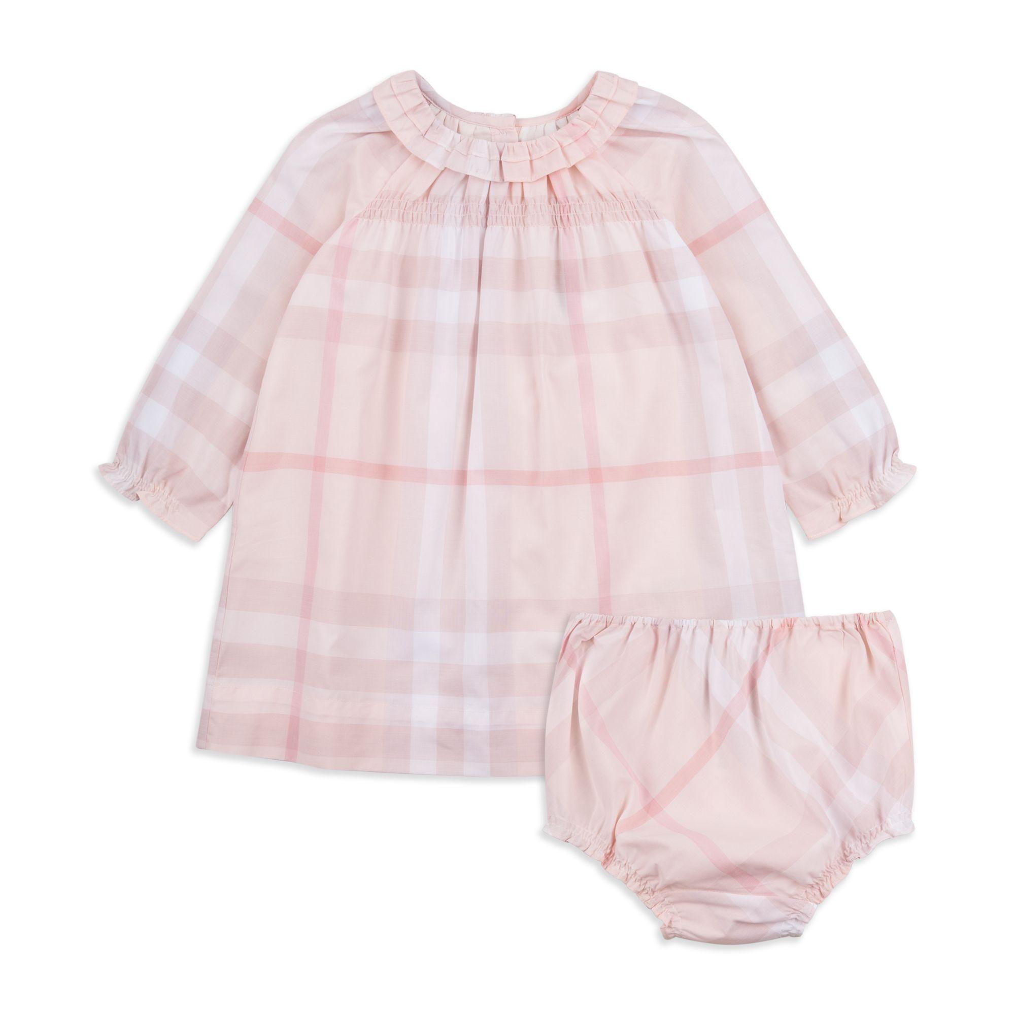 Baby Girls Amandine Dress Pink