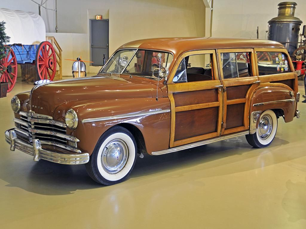 1949 plymouth woody vin 12196292 mileage 9292 exterior color brown wood interior. Black Bedroom Furniture Sets. Home Design Ideas