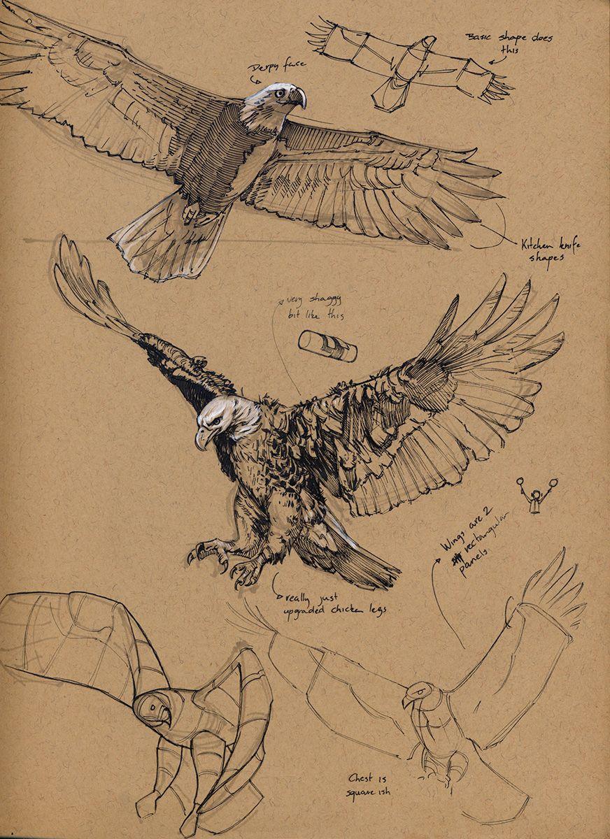Sketchbook rubis happy garbage version 2 0 adler vogel eagle drawing eagle sketch