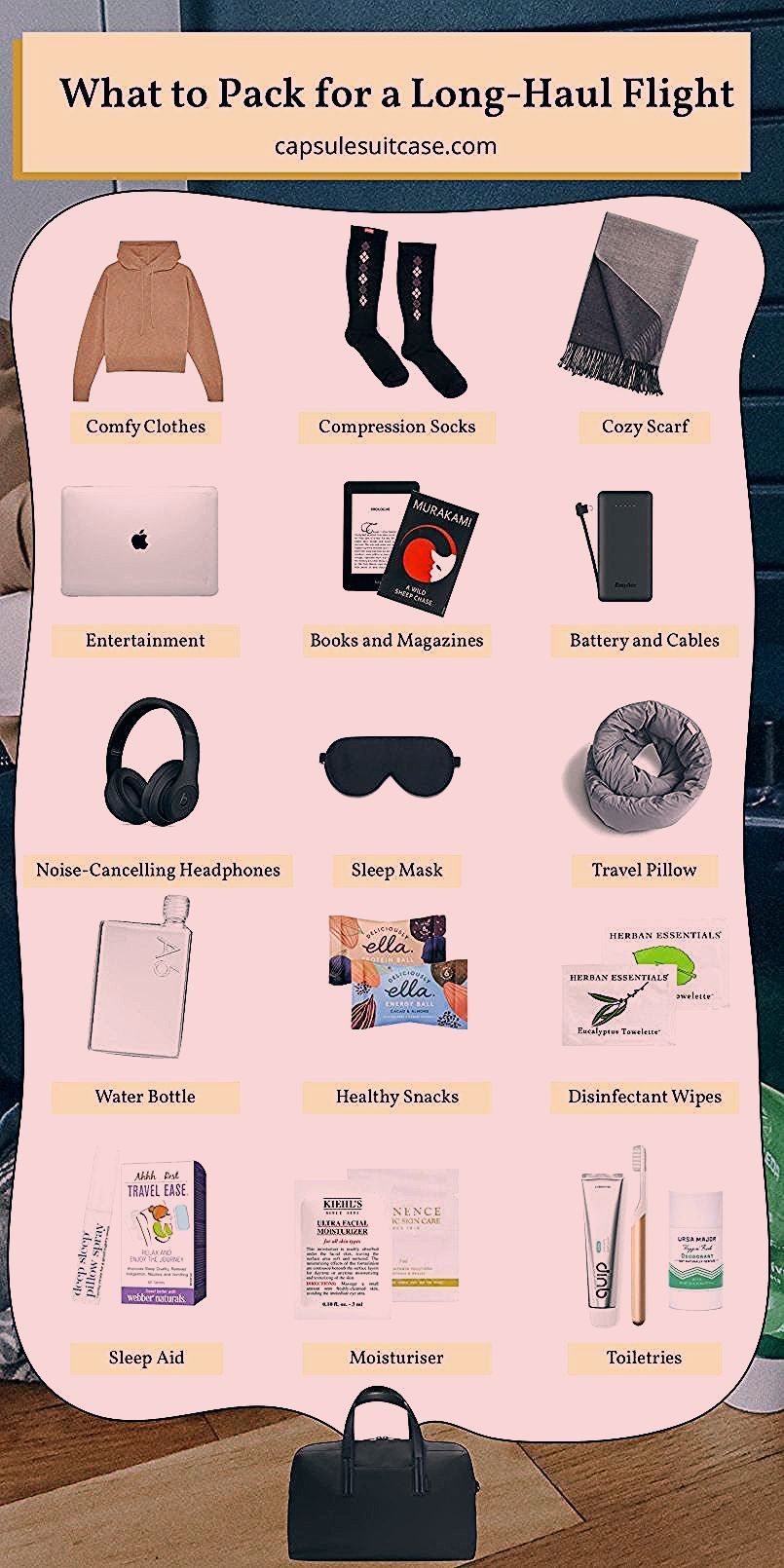 Photo of What to Pack for a Long-Haul Flight