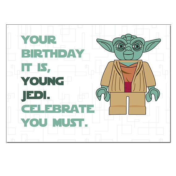 photograph relating to Star Wars Birthday Card Printable Free known as LEGO+Star+Wars+Birthday+Card+Cost-free Birthday card Star