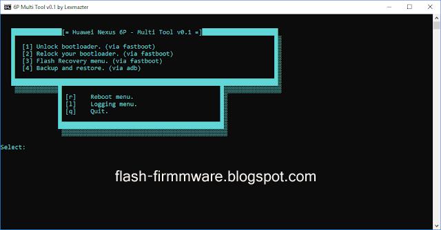 DownloadHuawei Nexus 6P Multi Tool Feature: Unlock The Bootloader