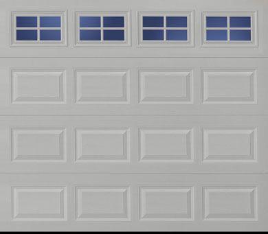 Stratford Gray Garage Door Garage Doors Single Garage Door Garage Door Windows