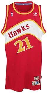Atlanta Hawks  21 Dominique Wilkins NBA Soul Swingman Jersey 13937de8e