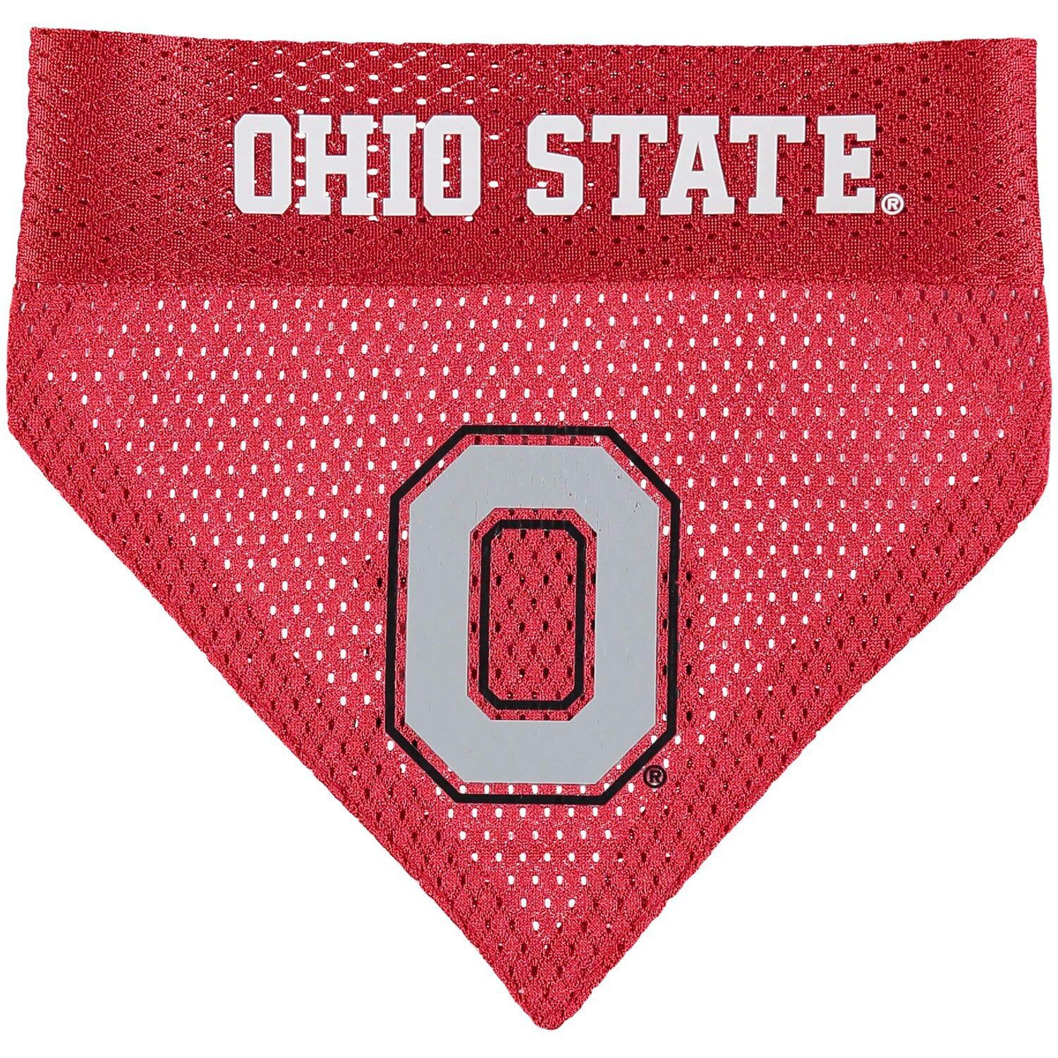 Ohio State Buckeyes Reversible Pet Bandana