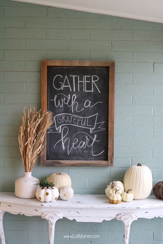 Bright And Cheery EASY Fall Porch Decorating Tips! Plus FREE Fall Printableu2026 Images