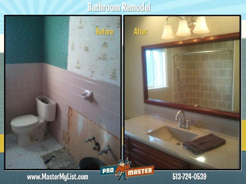 Cincinnati, Bad Umbau Cincinnati Badezimmer Umbau in keiner Weise zu