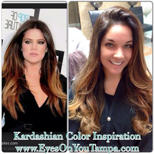 Kardashian inspied hair color book online 24 7 at www eyesonyoutampa com