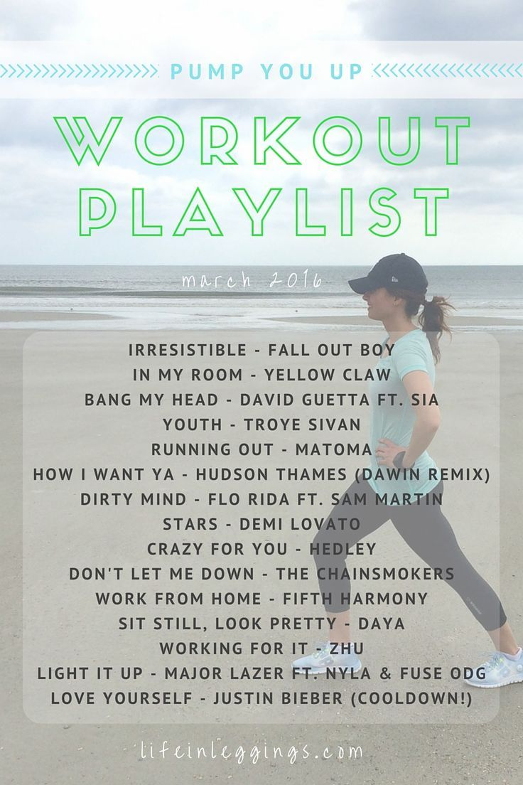 #Playlist #Pump #Workout Pump You Up Workout Playlist        Still feeling the winter blues? Stream and download this upbeat music playlist to get you motivated and back into your workout grind!
