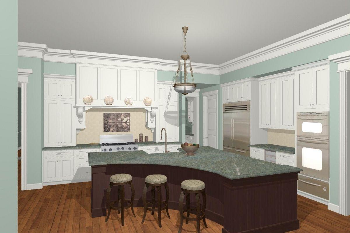 kitchen island shapes flamen unique home design ideas | Home Design ...