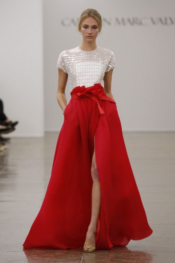 1000  images about Carmen Marc Valvo on Pinterest - Runway ...