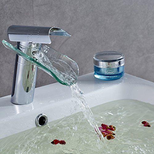 Auralum rubinetti bagno a cascata miscelatore monocomando... https ...