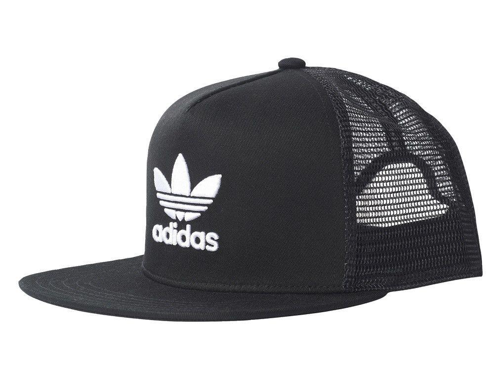 Snapback Cap Trefoil Flat black