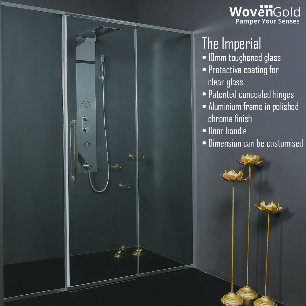 Features 10 Mm Toughened Gl