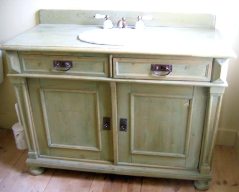 bathroom vanities from old furniture bathroom antique ...