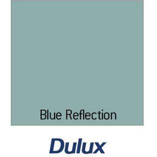 Dulux Matt Emulsion Colour Tester Paint Blue Reflection